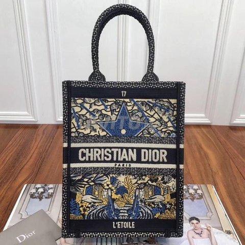 Dior Vertical book tote Bag  - 6