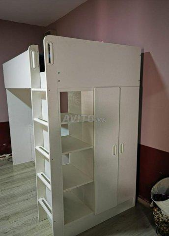 Lit bureau placard IKEA - 3