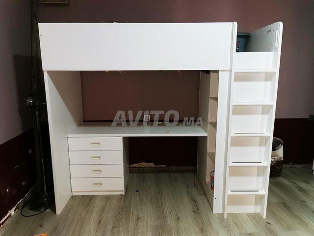 Lit bureau placard IKEA - 2