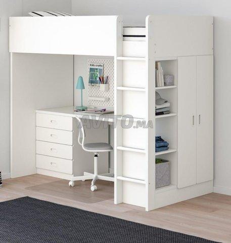Lit bureau placard IKEA - 4