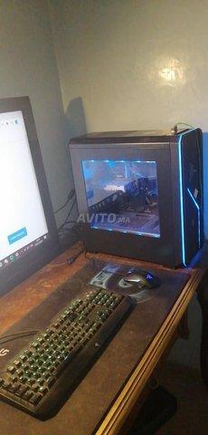 Pc gamer avec clavier et souris gamer - 1