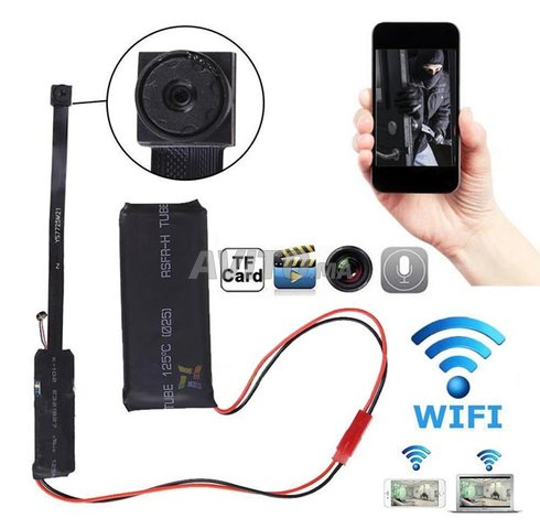 SPF Camera espion IP WI-FI Full HD  - 1