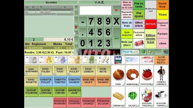 Programme gestion resto supermarche stock cafe Spa - 6