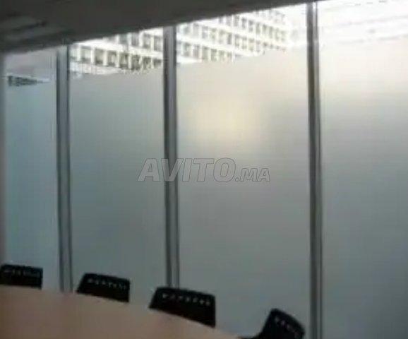 Cloison aluminium et faux plafond - 3