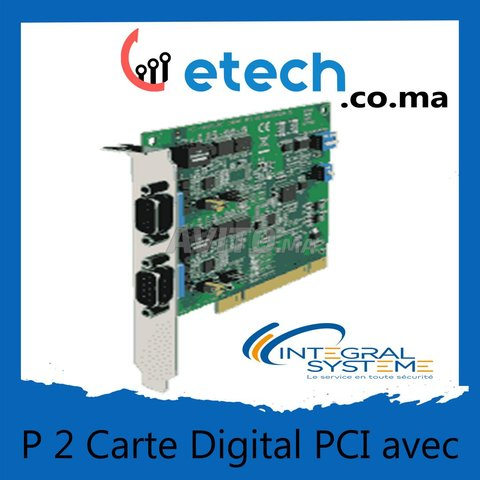 Carte Digital PCI avec 2 Ports Casablanca - 1