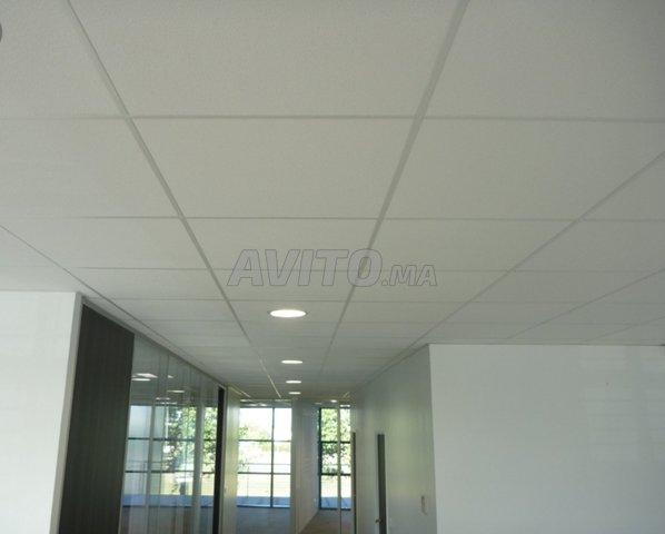Cloison aluminium et faux plafond - 4