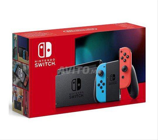 Nintendo Switch V2 couleur - 1
