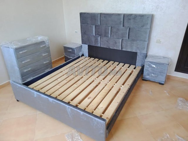 Hsj300 lit tapesserie de chambre nsjjs  - 3