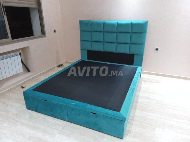 Hsj300 lit tapesserie de chambre nsjjs  - 1