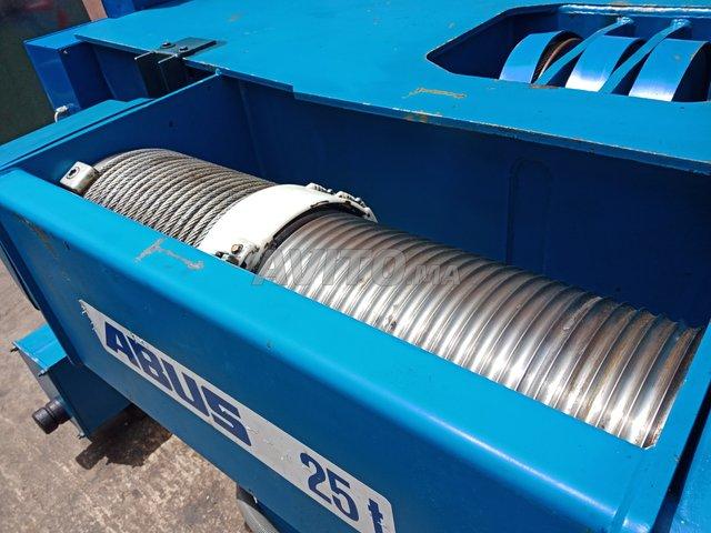 Palan treuil électrique pour portique bi poutre - 3