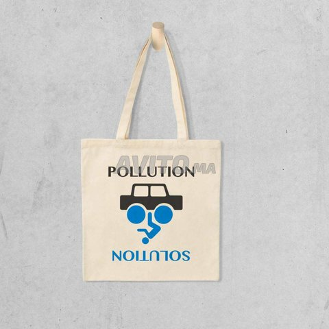 Tote bag pollution solution - 1