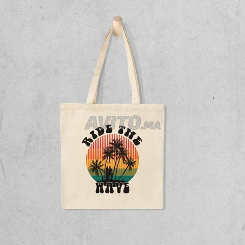 TOTE BAG RIDE THE WAVE - 1