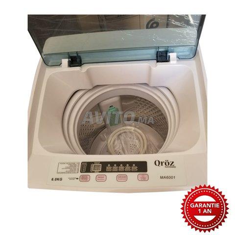 Machine à laver 6kg Top Loading Automatique Blanc - 2
