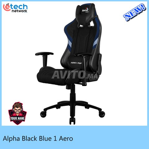Aero 1 Alpha Black Blue - 1