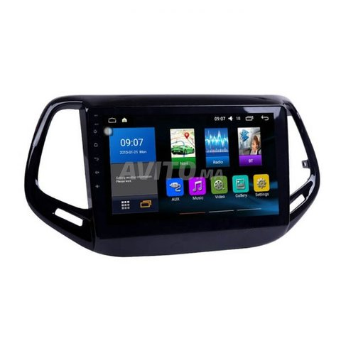 Poste radio ecran tactile android jeep compass - 5