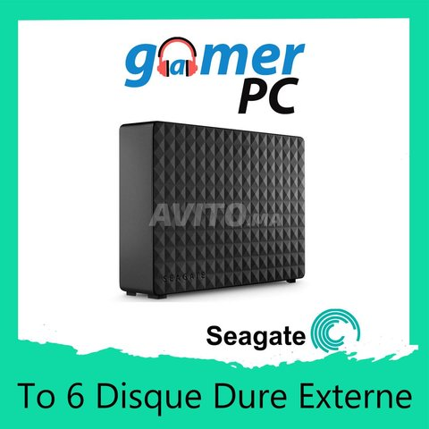 Seagate Disque Dure Externe 6 To - 1