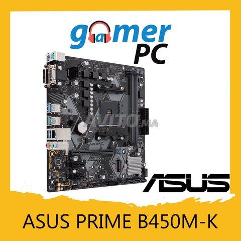 ASUS PRIME B450M-K Cartes mères - 1