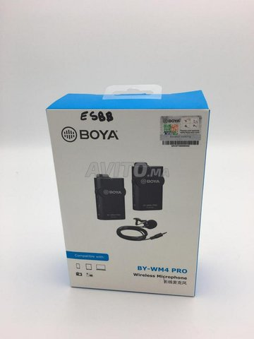 BOYA by-WM4 Pro Microphone sans Fil - 1