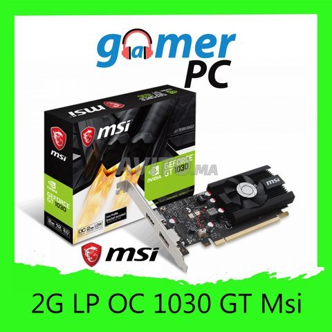 MSI Carte Graphique GT 1030 2G LP OC - 1