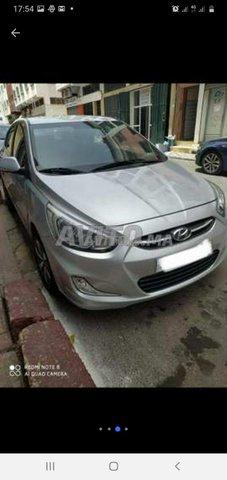 Voiture Hyundai Accent 2012 à rabat  Diesel  - 6 chevaux