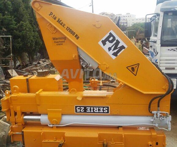 Grue PM 25003      12 tonne - 2