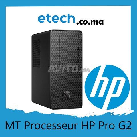 HP Pro G2 MT 8th Processeur Intel i3-8100  - 1