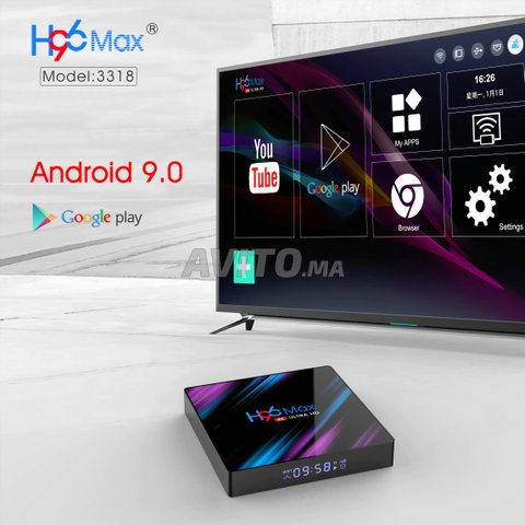 H96 Max TV Box Android 9.0 4Go RAM 64Go - 6