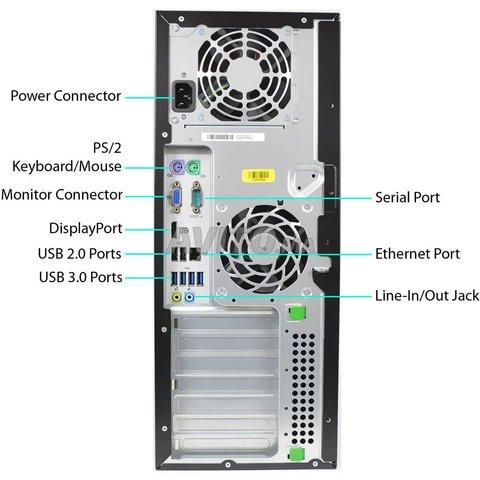 Core i7 Les HP Compaq Elite 8300 CMT Ram 8 DD 250 - 2