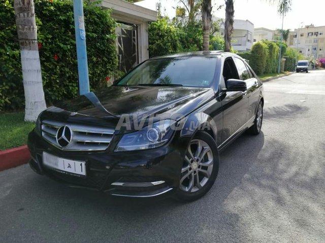 Voiture Mercedes benz Classe c 2013 à casablanca  Diesel  - 9 chevaux