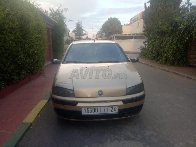 Voiture Fiat Punto 2003 à rabat  Diesel  - 8 chevaux