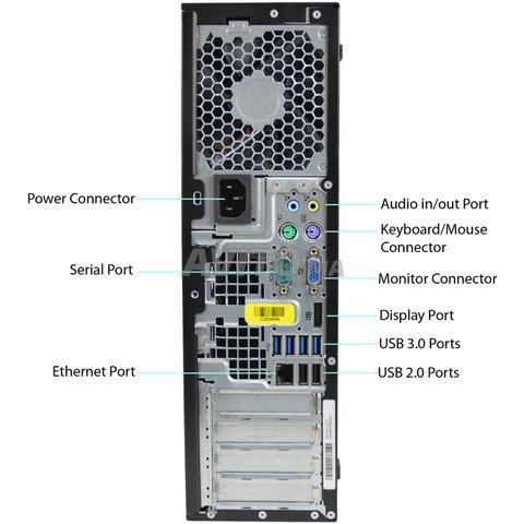 PC HP Elite 8300 Core i5 avec Ecran 22 Wide . - 3