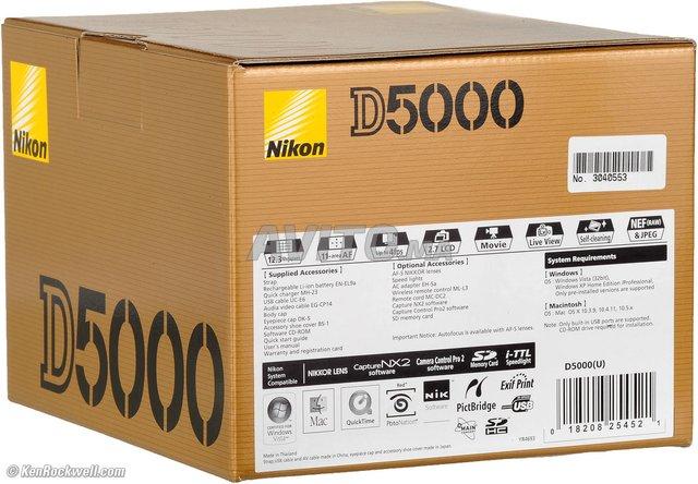 Nikon D5000 NEUF sous emballage - 1