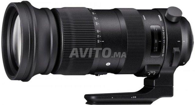Objectif Sigma 60-600mm DG Sport - 1