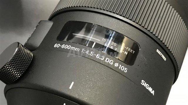 Objectif Sigma 60-600mm DG Sport - 2