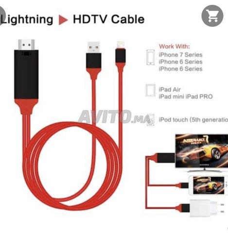 Cable iPhone iPad tv hdmi - 4
