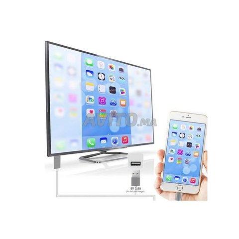 Cable iPhone iPad tv hdmi - 1