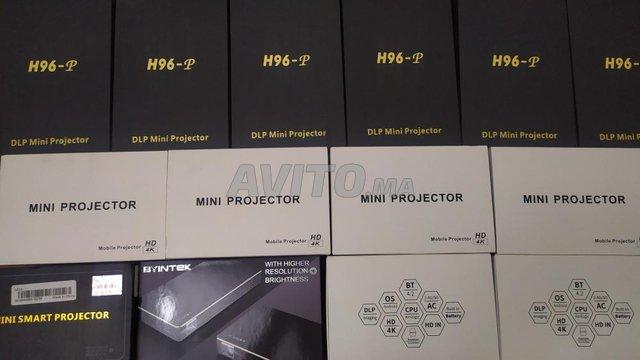 Projecteur H96 P DLP Mini 4K  2-16GB Android 9.0  - 6