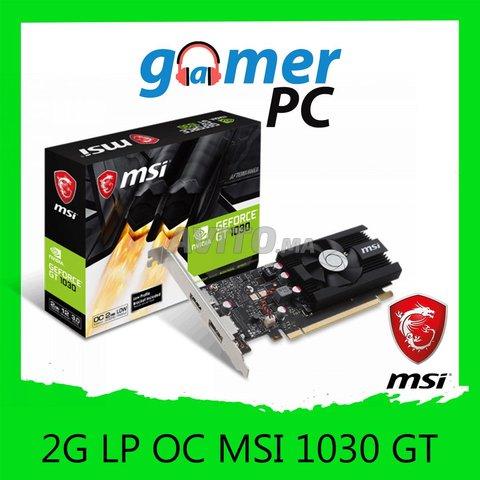 MSI Carte Graphique GT 1030 2G LP OC - 1