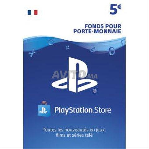 PlayStation Network Gift Card 5 EUR - PSN FRANCE - 1