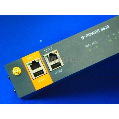 IP Power PDU Control à distance 8 appareils -Neuf- - 5