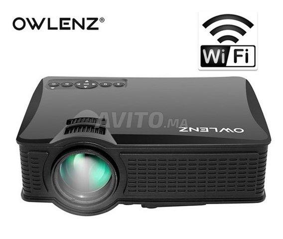 Projecteur OWLENZ SD60 WIFI Direct HD Datashow - 1
