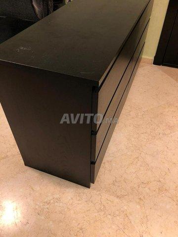 Table basse et commode à 6 tiroirs (IKEA) - 2