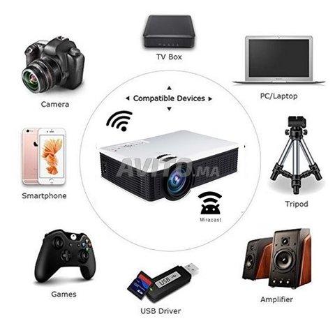 Projecteur OWLENZ SD60 WIFI Direct HD Datashow - 2