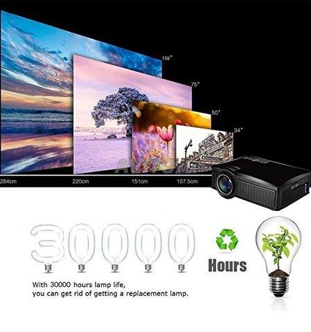 Projecteur OWLENZ SD60 WIFI Direct HD Datashow - 5