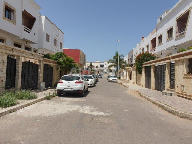 Terrain villa 245m2 près mosquée binani - 2
