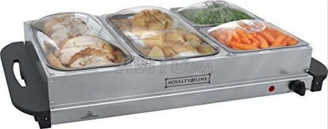 ROYALTY LINE Chauffe-Plats 4 pour Buffet   - 1