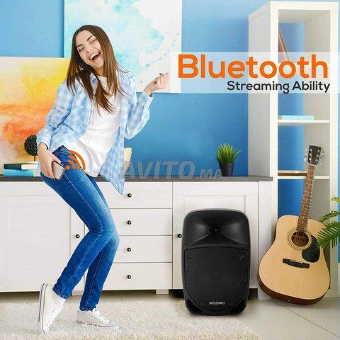 Haut-parleur Rechargeable Avec Micro Télécommande  - 4