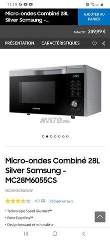 micro ondes Samsung combiné  - 6