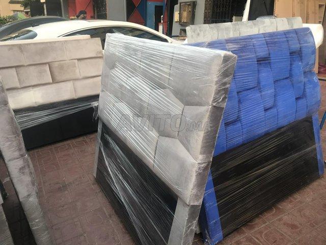400 lit tapesserie de chambre lit  - 2