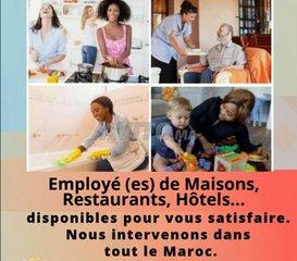Offres d'emploi Femme de Ménage Tanger, Tanger-Asilah